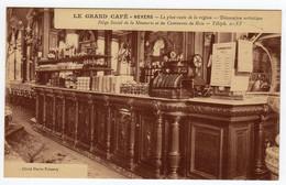 CPSM Nevers Nièvre 58 Le Grand Café Le Plus Vaste De La Région Siège De La Meunerie Commerce Bois éditeur Wayer Prémery - Nevers