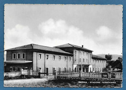 ISERNIA STAZIONE FERROVIARIA VG. 1952 N°A996 - Isernia