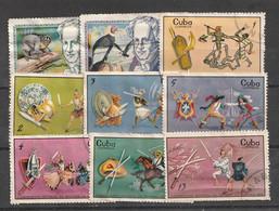 Kuba - Lot Mit Versch. Ausgaben Meist Gestempelt (E541-30) - Lots & Kiloware (mixtures) - Max. 999 Stamps