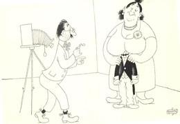 Albert DUBOUT - Editions Jean Dubout N'D 87 - Photographe Embarrassé - Grosse Femme - Dubout