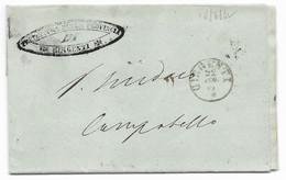 DA GIRGENTI A CAMPOBELLO - 18.6.1862. - ...-1850 Voorfilatelie