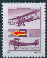 C0919 Hungary Definitive Transport Aviation Airplane Used ERROR - Aviones