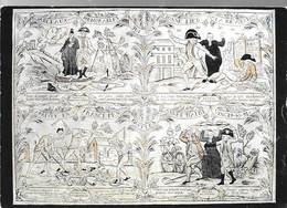 CPA°-1990-Murailles De La Révolution Francaise-Affiche N°13-Gravure Sur Bois-Edit Lyna-RARE - Demonstrationen