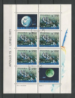 Poland 1971 Space Apollo 15 S/S Y.T. BF 53  (0) - Blocks & Sheetlets & Panes