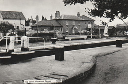 Unused 1950's RP Card? Top Locks, Norwood Green, Southall - Middlesex