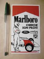 Stickers Autocollant - 1985 : F1 Formule FORD Et MARLBORO Cherche Son PILOTE - à Voir Suite Au Dos - Stickers