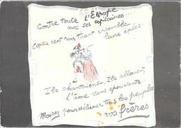 CPA°-1990-OBJETS De La Révolution Francaise-Affiche N°64-Mouchoir Batiste Souv Soldats-Edit Lyna-RARE - Demonstrationen