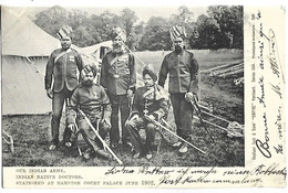 INDE - Our Indian Army - Indian Native Doctors - Stationed At Hampton Court Palace June 1902 - India