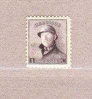 1919 Nr 165** Postfris Zonder Scharnier.Koning Albert I Met Helm. - 1919-1920  Cascos De Trinchera