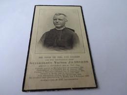 Doodsprentje Priester Guilhelmus Victor Janssens Herenthals1844-rethy 1920 - Religion & Esotérisme