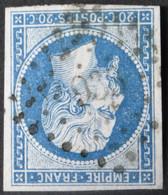 14B Margé Obl PC 933 Conde-sur-l'escaut (57 Nord ) Ind 4 - 1849-1876: Classic Period