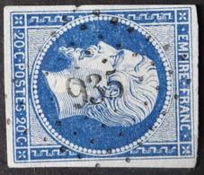 14A Margé, Obl PC 935 Condom (31 Gers ) Ind 3 - 1849-1876: Classic Period