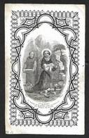 Incisione/engraving: S. ALFREDO - Luttino: SUSANNA DEL PONTE -1858 - Cavergno - Religione & Esoterismo