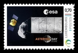 Luxembourg (Meng Post) 2018 No. 109 Space. Asteroid Day. Satellite MNH ** - Nuevos