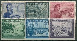 Deutsches Reich 1944 Deutsche Reichspost 888/93 Postfrisch - Nuevos