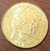 24 THONAC LE THOT SCÈNE DE CHASSE MEDAILLE SOUVENIR MONNAIE DE PARIS 2009 JETON TOURISTIQUE MEDALS COINS TOKENS - 2009