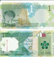 Qatar - 1 Riyal 2020 UNC Lemberg-Zp - Qatar