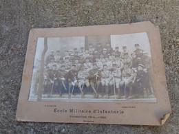 Photo Ecole Militaire Infanterie Promotion 1914 1920 - 1914-18