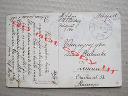 K.u.K. FELDPOST 299. / K.u.K. KRIEGSMARINE, S.M.S. BODROG - Traveled To Zemun ( 1917 ) / Ship Schiff Stamp Stempel... - Warships
