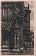 Halberstadt - Roland Am Rathaus - Ca. 1950 - Halberstadt