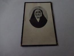 Doodsprentje Zuster Dame Louisa Meerhout 1892-antwerpen 1925 - Religion & Esotérisme