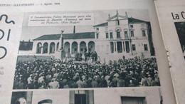 IL GAZZETTINO ILLUSTRATO 1934 DUEVILLE ARIANO POLESINE LA CERTOSA DI VEDANA SPRESIANO PADOVA - Sin Clasificación