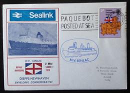 GREAT BRITAIN, Circulated Cover, « MV SENLAC », 1973 - Boten