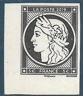 5361E Cérès 5.00 € Du Bloc Salon D'automne - 170 Ans Du Premier Timbre Poste Français (2019) Neuf** - Nuevos