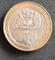 Coin Chile Moeda Chile 2015 100 Pesos 1 - Chili