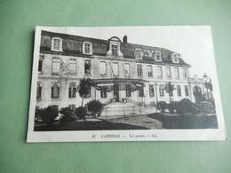 Dept 59 Cambrai La Poste  L.L 47 ( écrite + Timbre  ) Edit Neurdein - Cambrai