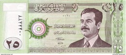 Iraq (CBI) 25 Dinars 2001 UNC Cat No. P-86 / IQ342a - Iraq