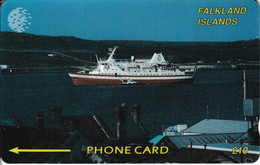 FLK-002Ba - Cruiseliner - Right CN - Large - 2CWFB - Falklandeilanden