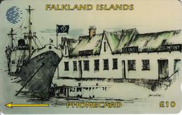 FLK-003B - F.I.C. Offices - 3CWFB - Falklandeilanden