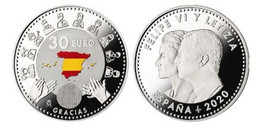 ESPAGNE SPAIN SPANIEN ESPAÑA 2020 FIGHT AGAINST THE COVID-19 PANDEMIC LUCHA CONTRA LA PANDEMIA PLATA SC - Sets Sin Usar &  Sets De Prueba