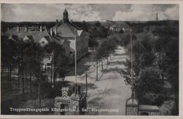 Königsbrück - Truppenübungsplatz, Haupteingang - Ca. 1940 - Königsbrück