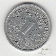 1F..1942 - H. 1 Franc