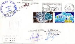 BELLE ENVELOPPE SIGNEE 4 FOIS Des TAAF De 1980. PA 51 + 56. Parfait état - Other