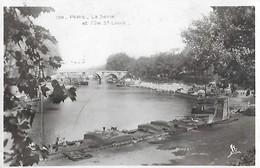 75 - PARIS - La Seine Et L'île St Saint Louis - - Die Seine Und Ihre Ufer