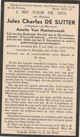 Lembeke, Kaprijke, Jules De Sutter, Van Haelemeesch - Santini