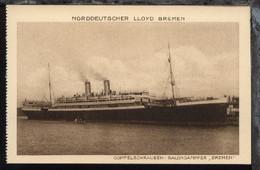 Dampfer Bremen - Dampfer