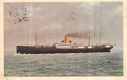 """Cpa  Bateau Paquebot """" Cassel """" Norddeutscher Lloyd Bremen 1901 Geestemünde Saisi France 1919 """"Maréchal Galiéni """" - Steamers"""