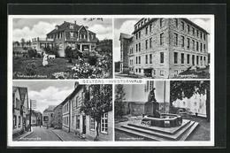 AK Selters / Westerwald, Blick Zum Krankenhaus, Trotzdendorf-Schule, Kriegerdenkmal - Non Classificati