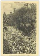 Cpa Ceylan , La Procession Du Christ Ressuscité à Jaffna , Vierge - Lugares Santos