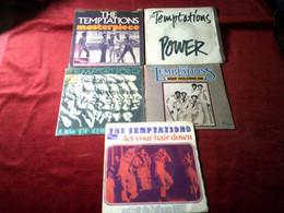 THE   TEMPTATIONS  °  COLLECTION DE 11 / 45 TOURS DIFFERENTS - Collezioni