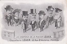 Chapellerie -- Les Chapeaux De La Maison Léger -- 13 Rue St-Antoine - Paris -- 7 Modèles --- 692 - Moda