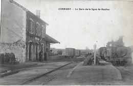 Carte Postale - CORBIGNY (58) - La Gare De La Ligne De Saulieu - 1920 - - Corbigny