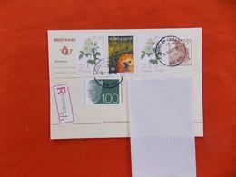 België Briefkaart 1993 Stempel. Oostduinkerke 1 Zegel Boudewijn 100Fr- /1  Voorgedrukte Zegel En 3 Andere  Aangetekend - Non Classificati