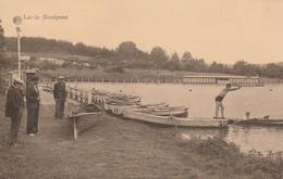 Lac De Renipont   Plage , RARE ( Ohain ,Lasne , Bourgeois , Rixensart , Genval , Bourgeois ) Canot - Rixensart