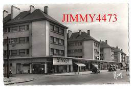 CPSM Dentelées - SAINT-NAZAIRE 44 Loire - Inf. - Avenue De La République ( SINGER ) N° 65 - Edit. F. Chapeau - Saint Nazaire