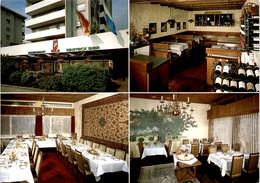 Restaurant Eule - Horw LU - 4 Bilder - Werbekarte Mit Mittelfalz - LU Lucerne